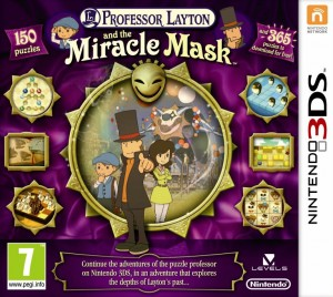 Professor Layton and the Miracle Mask Box Cover