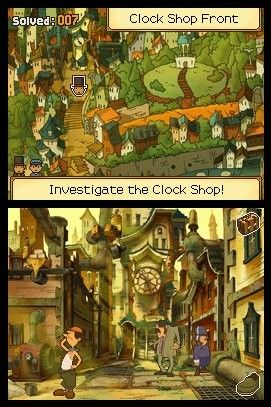Screenshot for Professor Layton and the Unwound Future 3