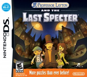 Professor Layton and the Last Specter Box Cover