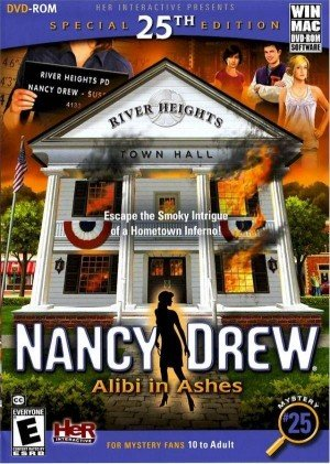 Nancy Drew: Alibi in Ashes Box Cover