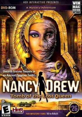 Nancy Drew: Tomb of the Lost Queen Box Cover