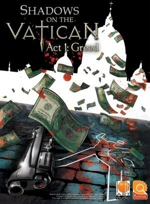 Shadows on the Vatican: Act I - Greed Box Cover
