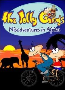 The Jolly Gang's Misadventures in Africa Box Cover