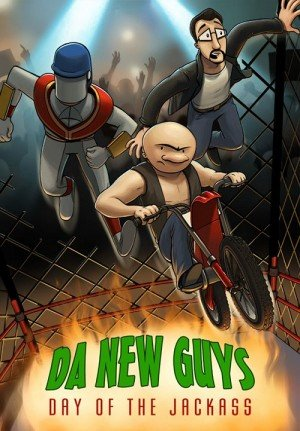 Da New Guys: Day of the Jackass Box Cover