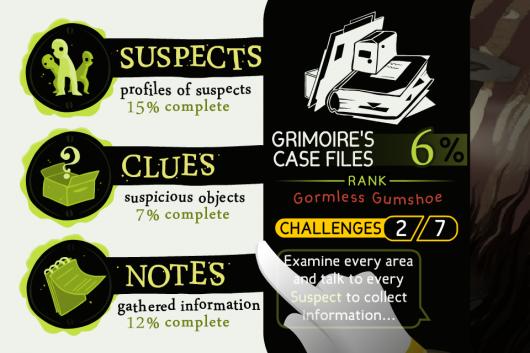 Screenshot for Detective Grimoire: Secret of the Swamp 4