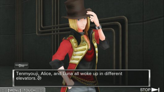 Screenshot for Zero Escape: Virtue