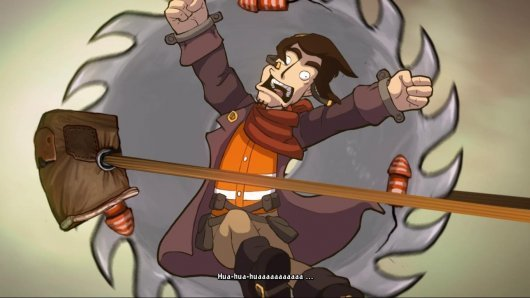 Screenshot for Chaos on Deponia 2
