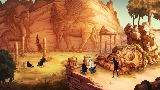 Screenshot for Broken Sword 5: The Serpent