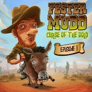 Fester Mudd: Curse of the Gold - Episode 1: A Fistful of Pocket Lint Box Cover