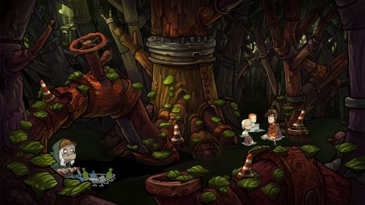 Screenshot for Goodbye Deponia 6