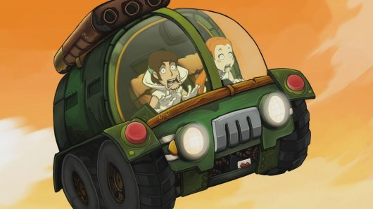 Screenshot for Goodbye Deponia 5