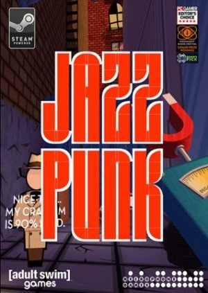 Jazzpunk Box Cover