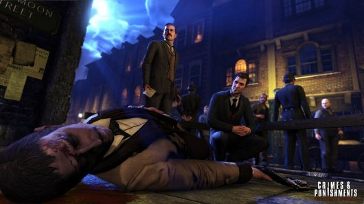 Screenshot for Sherlock Holmes: Crimes & Punishments 1