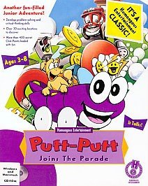 Putt-Putt Joins the Parade Box Cover
