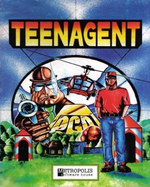Teenagent Box Cover