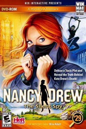 Nancy Drew: The Silent Spy Box Cover