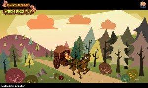 Adventurezator: When Pigs Fly Screenshot #1