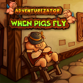 Adventurezator: When Pigs Fly Box Cover