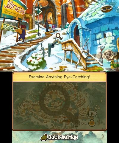 Screenshot for Professor Layton and the Azran Legacy 1