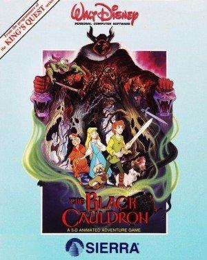 The Black Cauldron Box Cover