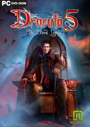 Dracula 5: The Blood Legacy Box Cover