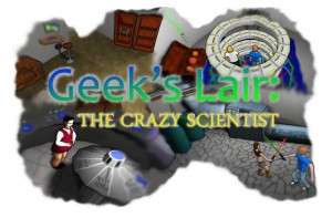 Geek's Lair: The Crazy Scientist Box Cover