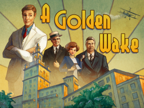 A Golden Wake Box Cover