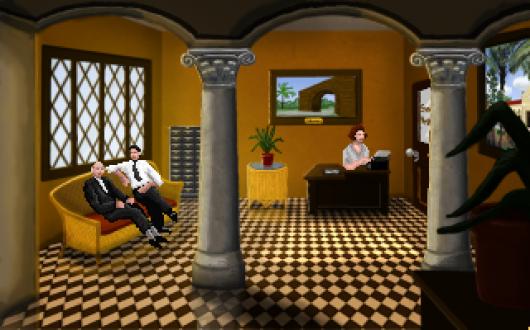 Screenshot for Golden Wake, A 2