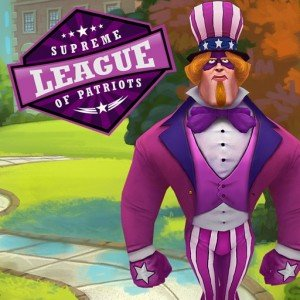 Supreme League of Patriots: Episode 1 - A Patriot is Born Box Cover