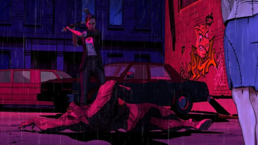 Screenshot for Wolf Among Us: Episode Three: A Crooked Mile, The 1