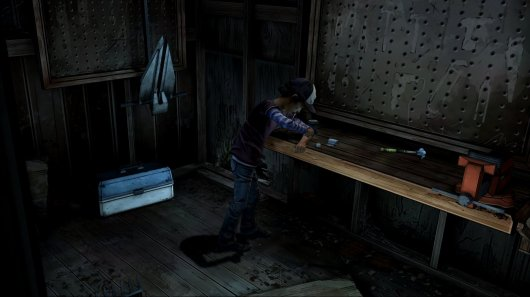 Screenshot for Walking Dead: Season Two - Episode One: All That Remains, The 4
