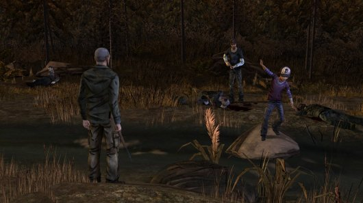 Screenshot for Walking Dead: Season Two - Episode One: All That Remains, The 1
