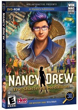 Nancy Drew: The Shattered Medallion Box Cover