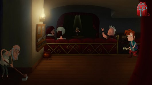 Screenshot for Kelvin and the Infamous Machine 3