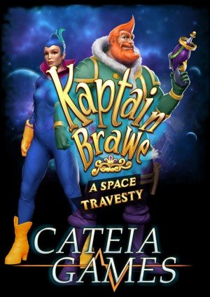 Kaptain Brawe 2: A Space Travesty Box Cover