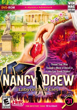 Nancy Drew: Labyrinth of Lies Box Cover
