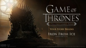 Game of Thrones: Episode One - Iron from Ice Box Cover