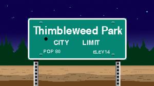 Thimbleweed Park Box Cover