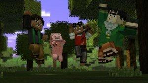 Minecraft: Story Mode Screenshot #1
