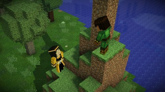 Screenshot for Minecraft: Story Mode 5