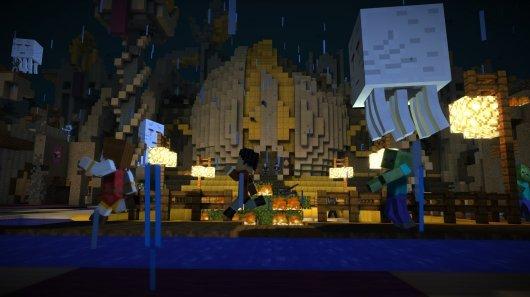 Screenshot for Minecraft: Story Mode 4