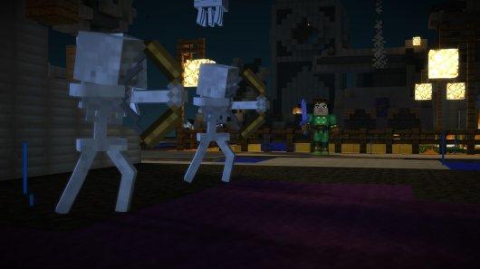 Screenshot for Minecraft: Story Mode 3