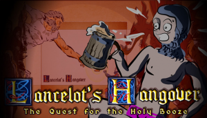 Lancelot's Hangover: The Quest for the Holy Booze Box Cover