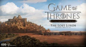 Game of Thrones: Episode Two - The Lost Lords Box Cover