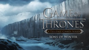 Game of Thrones: Episode Four - Sons of Winter Box Cover