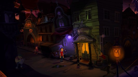Screenshot for Gibbous: A Cthulhu Adventure 3