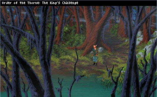 Screenshot for Order of the Thorne: The King
