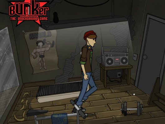 Screenshot for Bunker: The Underground Game 1