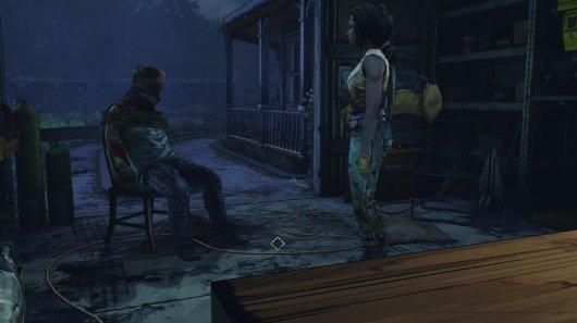 Screenshot for Walking Dead: Michonne, The 7