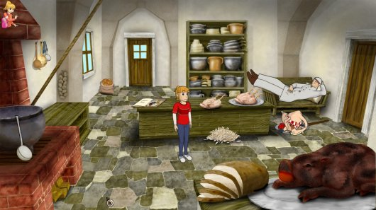 Screenshot for Sandra and Woo in the Cursed Adventure 1